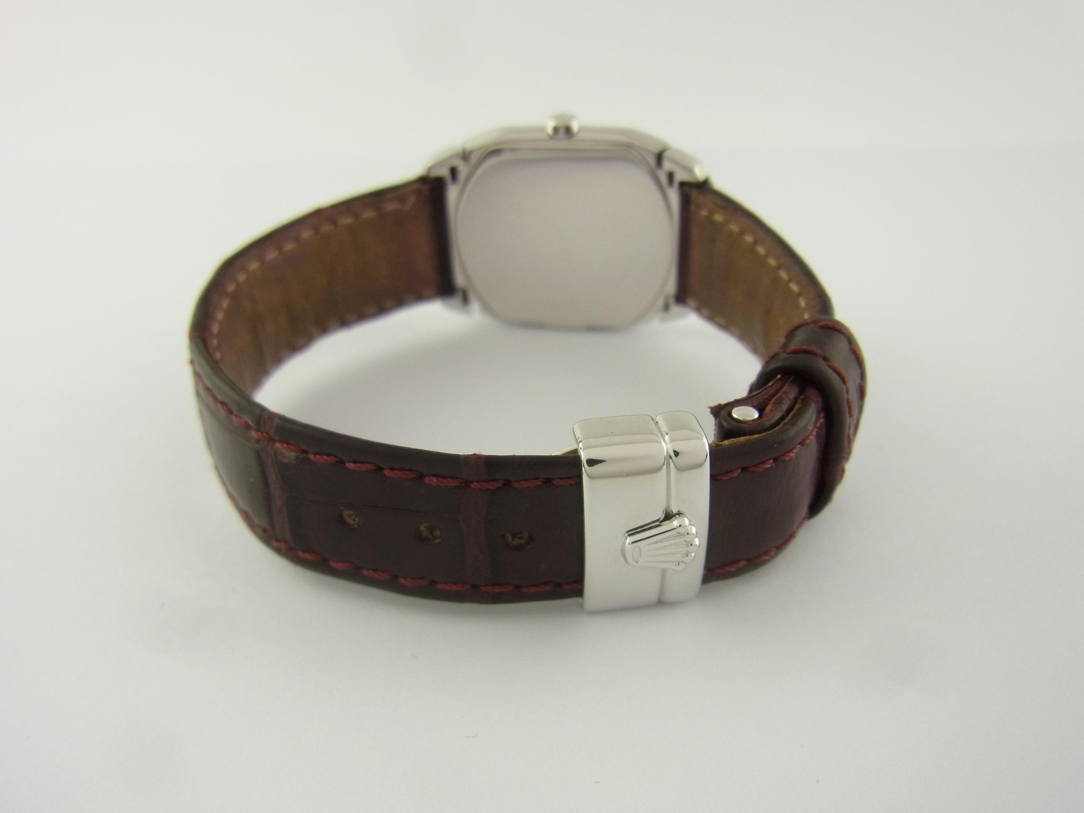Rolex Lederband Faltschließe