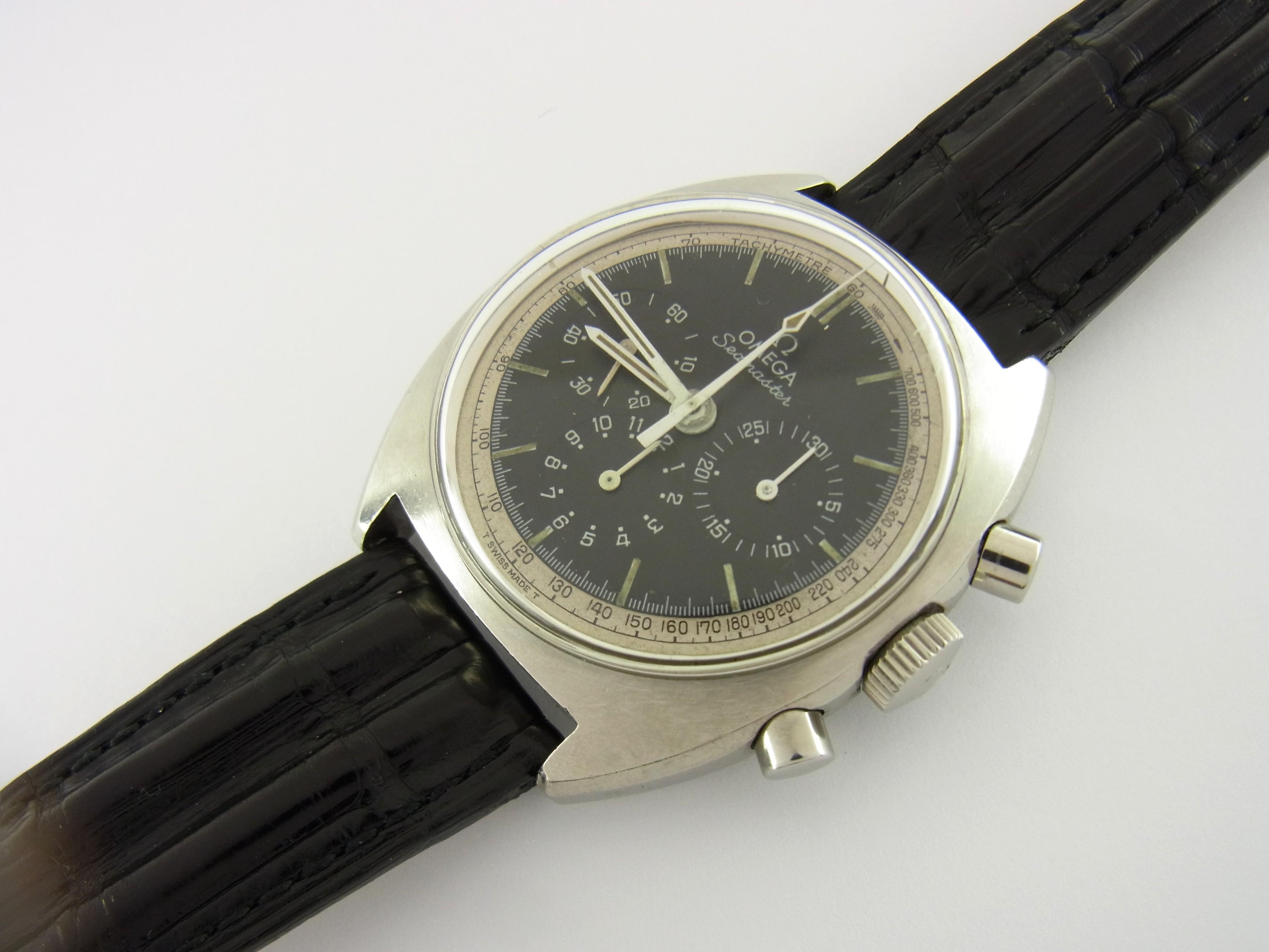 omega seamaster chronograph ref sammleruhr aus 1966 uhren online shop luxini. Black Bedroom Furniture Sets. Home Design Ideas