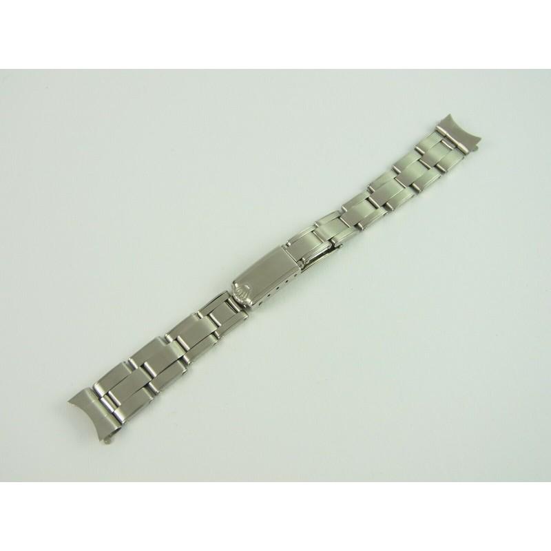ROLEX Lady Oyster Armband für Damenuhren Edelstahl / Bracelet steel vintage Bj. 2.68