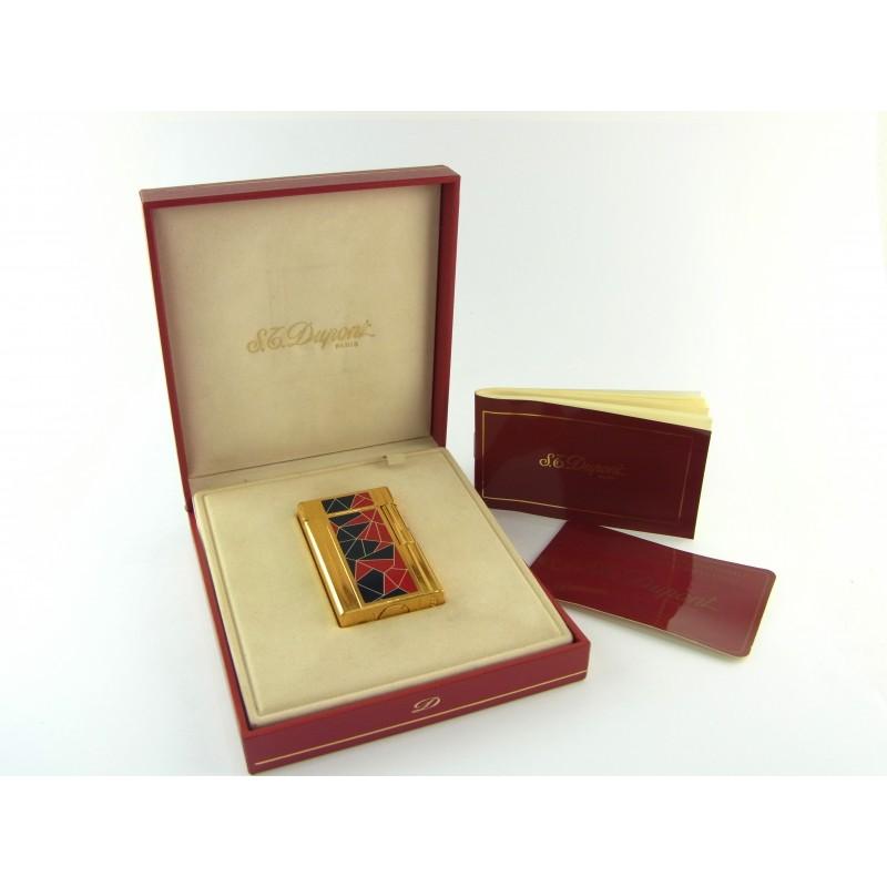 S.T. Dupont Feuerzeug Französische Revolution Limited Edition Mosaik