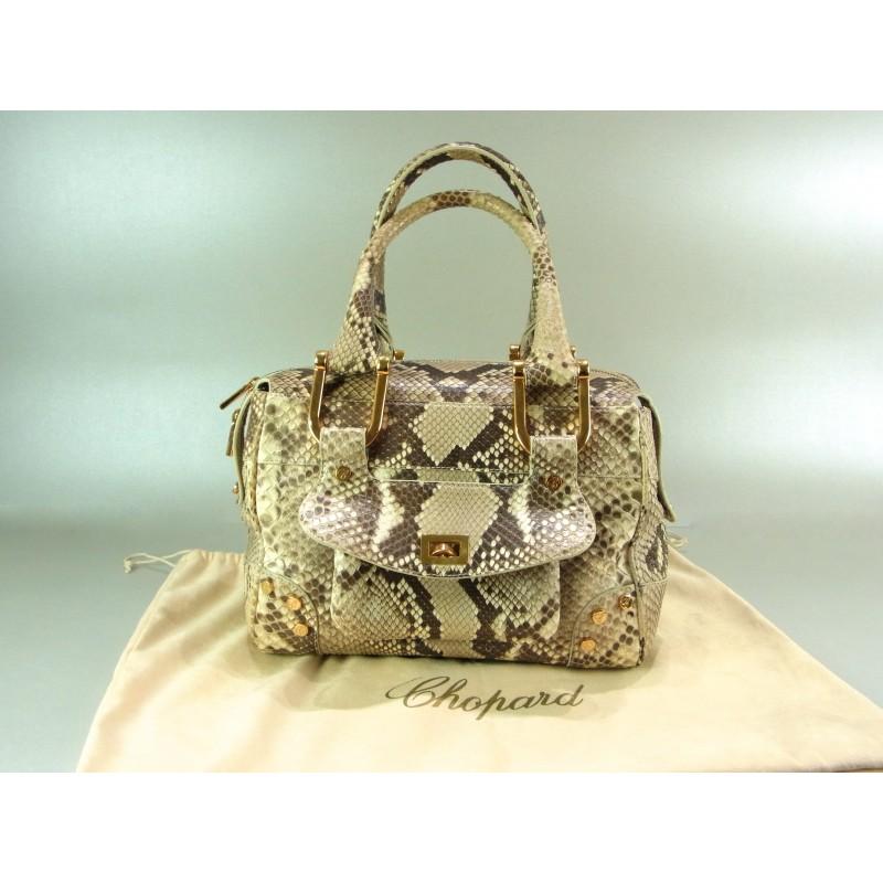 Chopard Caroline Tasche Python Leder limited edition Top Zustand