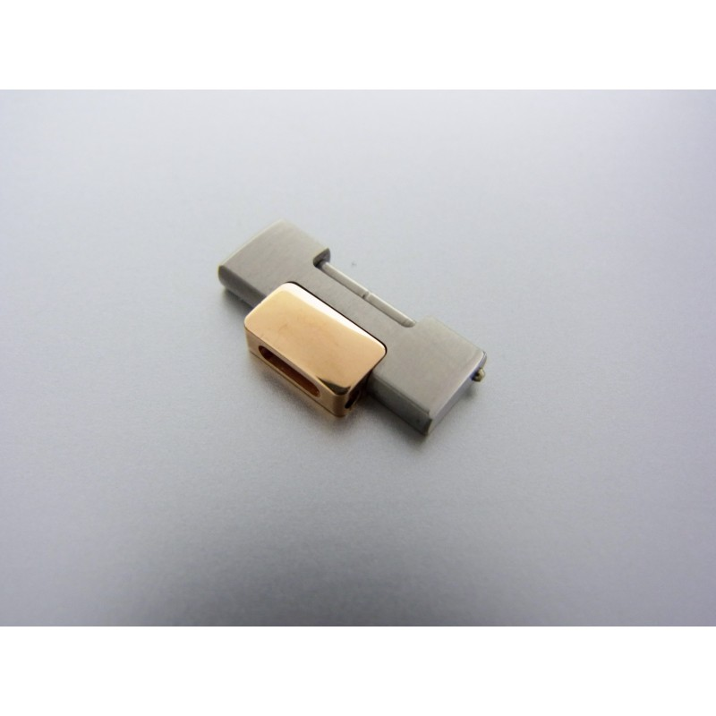 PATEK PHILIPPE Nautilus Armbandglied Stahl 18k Rosegold Bracelet Link 17mm