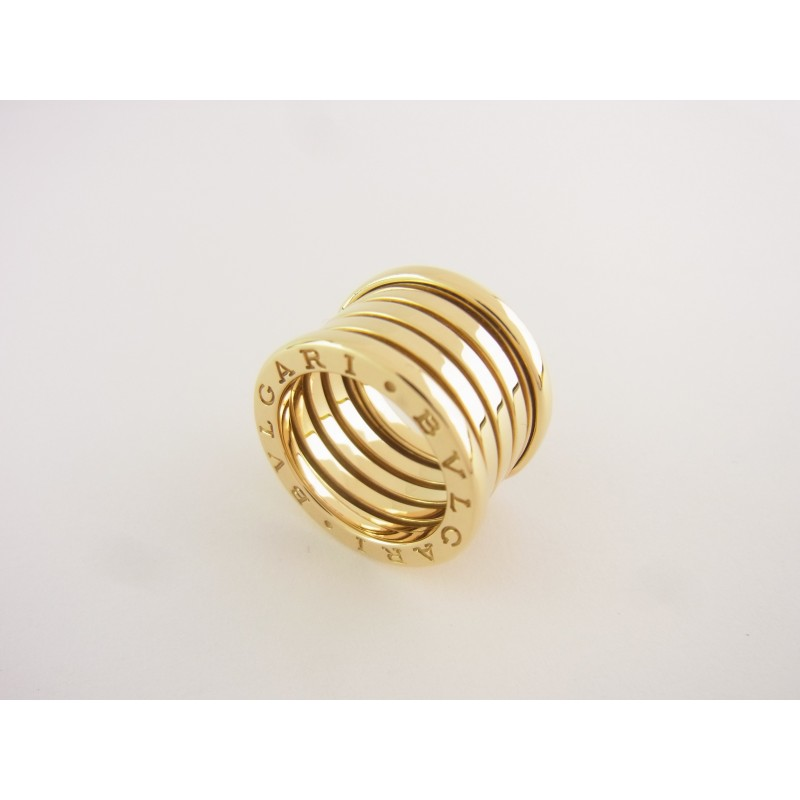 Bulgari B Zero 1 5-Band Ring 750er Gelbgold Gr 50