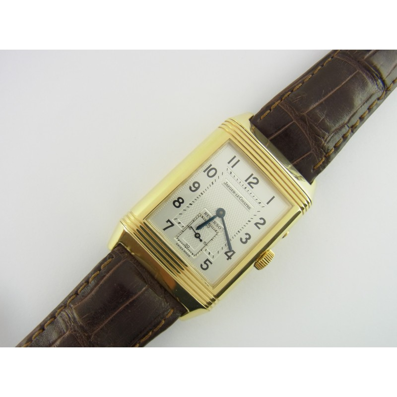 Jaeger LeCoultre Reverso Duoface Night & Day 18 kt Gold Ref. 270.154