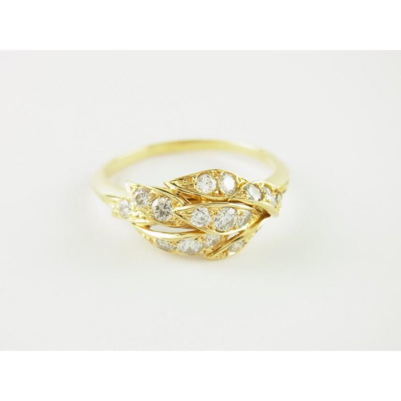 PIAGET Ring 18 kt Gelbgold 16 Diamanten